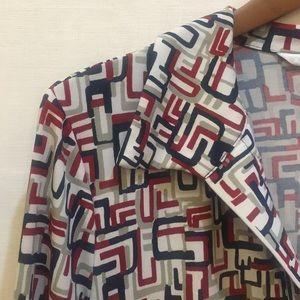 Max Studio Abstract Print Dress
